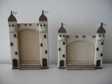 porta retrato castelo medieval