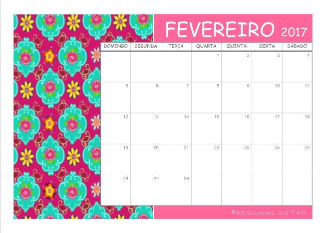 Planner Calendario Para Imprimir