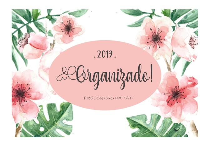 Capa planner 2019 - Capa rosa claro