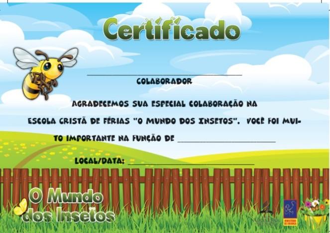 Certificado - Colaborador