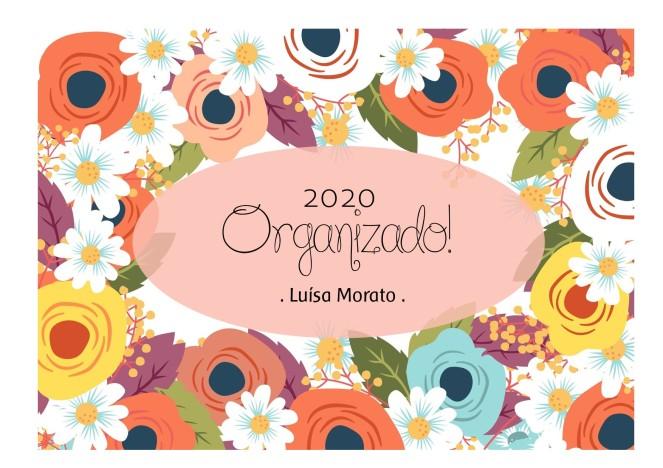 Capa Planner 2020 rose