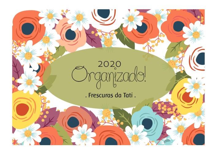 Capa Planner 2020 verde